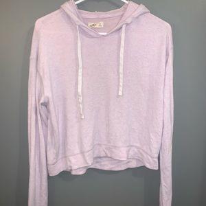 Light pink hollister sweat shirt